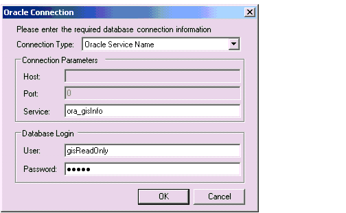 Oracle as a Data Source for ModelBuilder